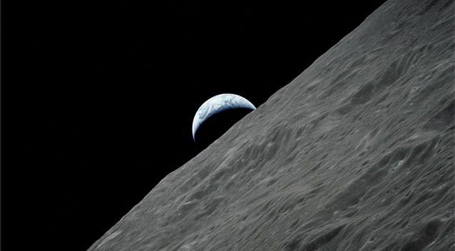 After decades of speculation, a team of researchers has confirmed a vast lava tube beneath the lunar surface. Geological formations like this could one day be used as a moon base to shelter astronauts. Source: Supplied