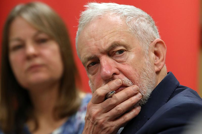 Labour party leader Jeremy Corbyn is adamant he will take Labour into the 2022 election: PA