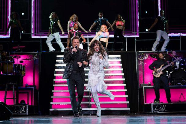 PHOTO: Donny and Marie Osmond performing in Las Vegas. (Caesars Entertainment)