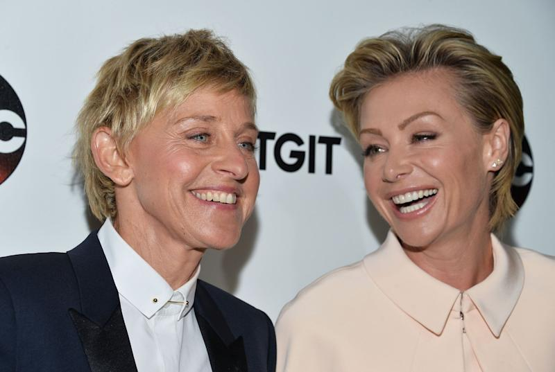 Ellen Degeneres and Portia De Rossi bought a beverly hills mansion for $45 million