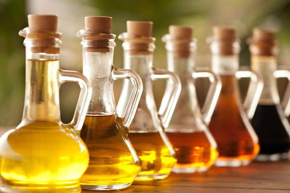 """<p>Not only did my world change when I moved beyond cooking exclusively with extra-virgin olive oil, but I also learned that not all olive oils are created equal. California-based <a href=""""http://enzooliveoil.com/?portfolio-category=olive-oil"""" rel=""""nofollow noopener"""" target=""""_blank"""" data-ylk=""""slk:Enzo EVOO"""" class=""""link rapid-noclick-resp"""">Enzo EVOO</a> offers bottles crushed with Fresno chiles, clementines, and other ingredients perfect for salad dressings or to zhuzh up just about any meal. They offer a noticeable difference in flavor from the Costco-size jug I'm used to cooking with. </p><p>I also started cooking with sesame oil in an attempt to re-create some of my favorite Asian dishes that I would normally order for takeout. It's given me a whole new cuisine to explore. Switching out the oils you're used to is a simple first step toward new adventures in the kitchen.</p>"""