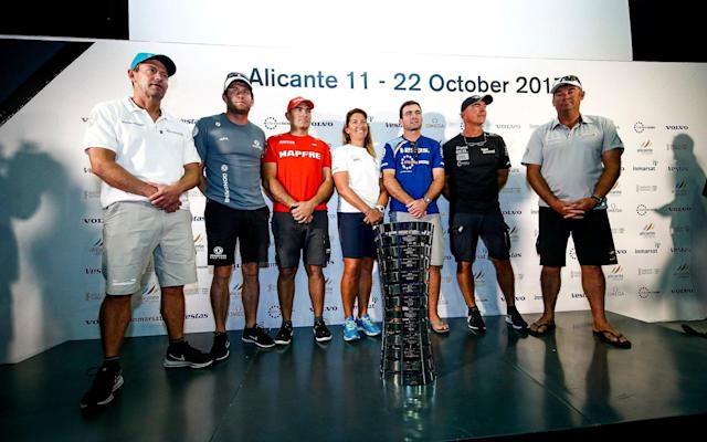 Turn the Tide on Plastic's Caffari is the only female skipper in the Volvo Ocean Race - REUTERS