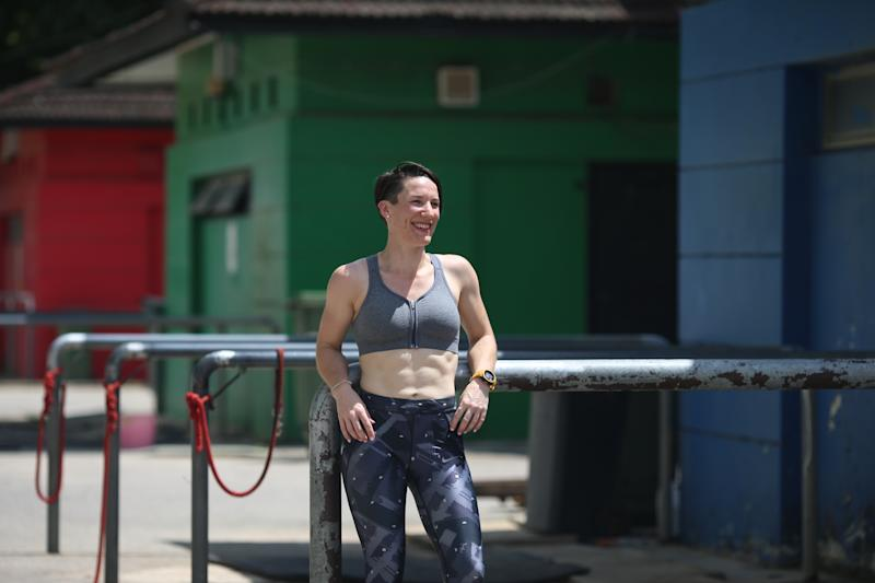 Singapore #Fitspo of the Week: Amelie Marivain (PHOTO: Cheryl Tay)