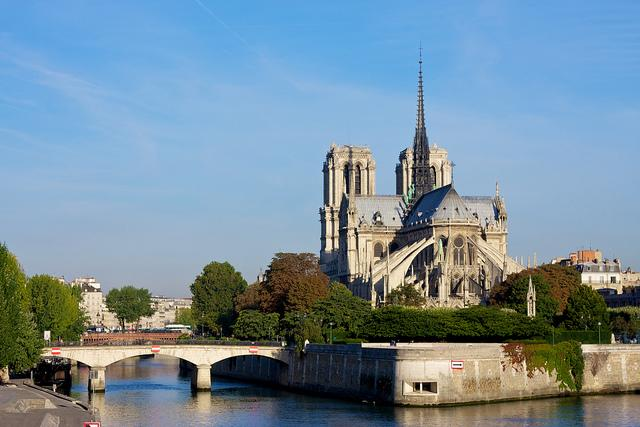 "<div><span>One of the world's best-known church buildings, Notre-Dame was completed in 1345 and is a fine example of French Gothic architecture, complete with gargoyles, stained glass windows and, of course, its 10 bells.</span><i><span> [Photo: Flickr / </span></i><a rel=""nofollow"" href=""https://www.flickr.com/photos/levork/""><i><span>Julian Fong</span></i></a><i><span>]</span></i> </div>"