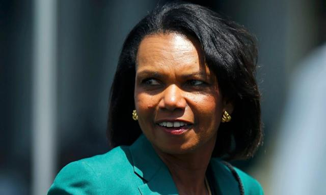 """<span class=""""element-image__caption"""">Condoleezza Rice was the first African American woman to serve as US Secretary of State. </span> <span class=""""element-image__credit"""">Photograph: Brian Snyder/Reuters</span>"""