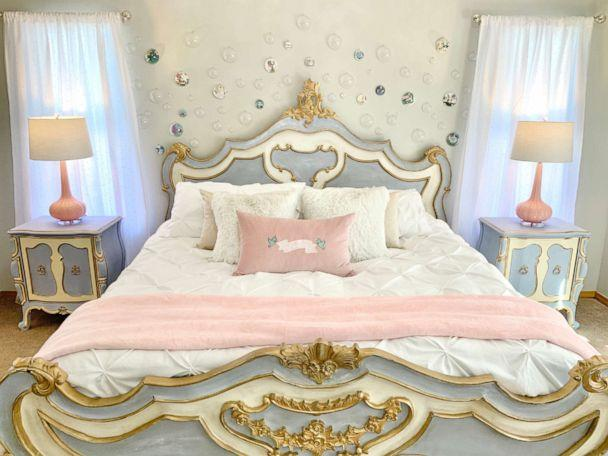 PHOTO: Kelsey Hermanson created a romantic and dreamy Cinderella inspired bedroom. (Kelsey Hermanson)