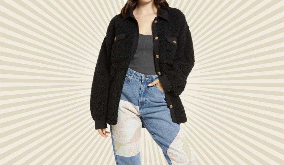 So snuggly it's like a nap in jacket form. (Photo: Nordstrom)