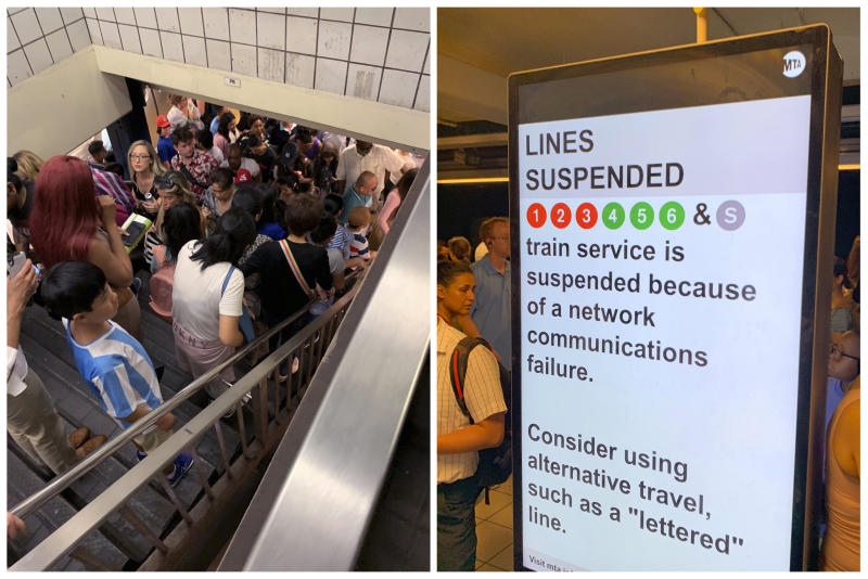 Subways Suspended
