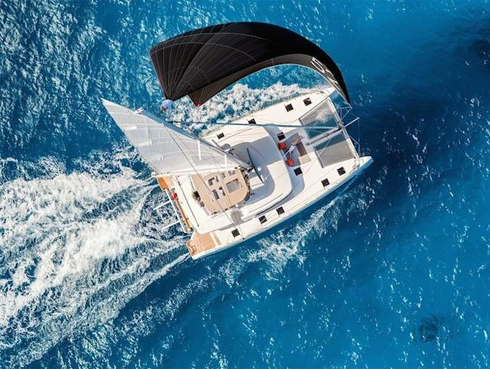 """<p>Coboat is an 82-foot retrofitted sailing catamaran and floating coworking space. Nab a ticket aboard and the boat becomes your home and office — complete with 360 degree ocean views and (maybe) the occasional dolphin swimming past — for a week, a month, or more. (Credit: <a href=""""http://www.coboat.org/"""" rel=""""nofollow noopener"""" target=""""_blank"""" data-ylk=""""slk:Coboat"""" class=""""link rapid-noclick-resp"""">Coboat</a>)<br></p>"""