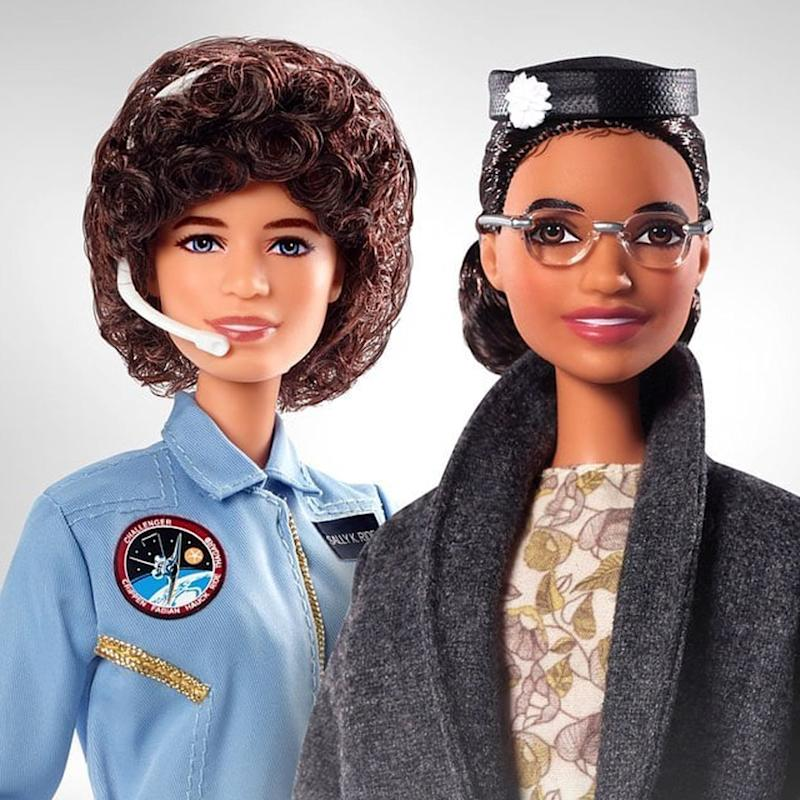 2 Historical Women Have Been Honored as Barbies For Women's Equality Day