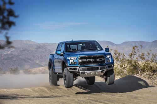 Ford F-150 Raptor gets adaptive Fox suspension and Recaro seats