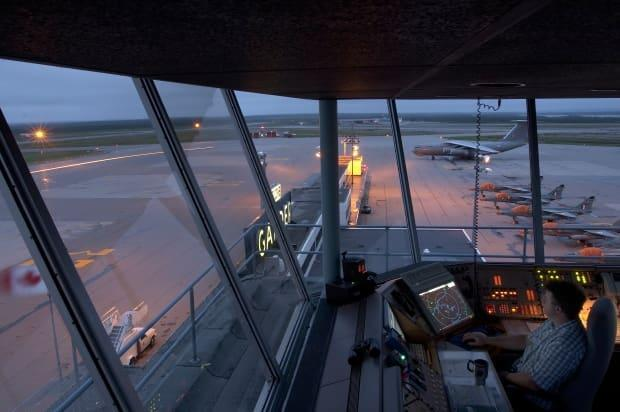 The jobs of 27 air traffic controllers in Gander have been saved after a decision from Nav Canada to reverse pandemic-related job cuts. (Gander International Airport Authority - image credit)