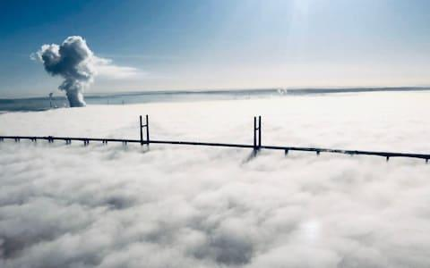 Originally the Second Severn Crossing, it carries the M4 - Credit: NATIONAL POLICE AIR SERVICe