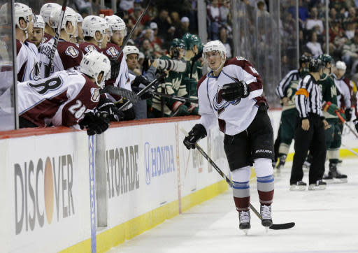 Avalanche lose defenseman Barrie for 4 to 6 weeks