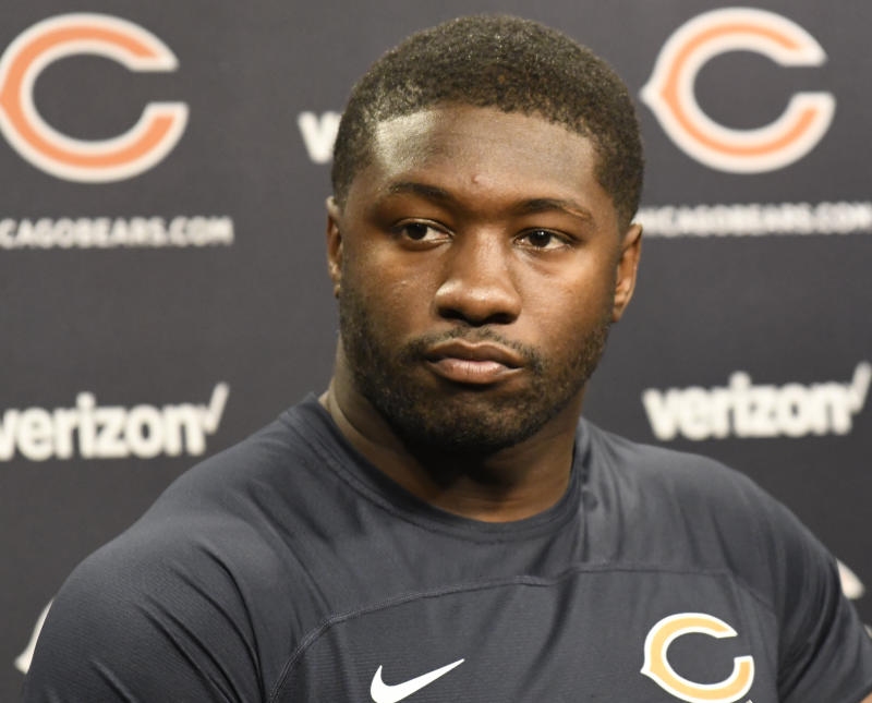 Chicago Bears Linebacker Roquan Smith Missed All Of The Teamu0027s Training  Camp Due To A Holdout