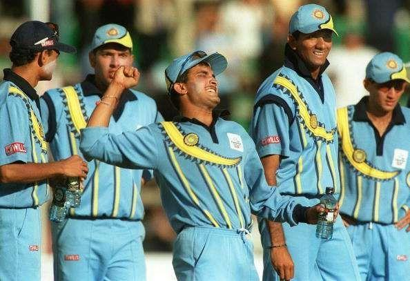 India's jersey in 2000 CT