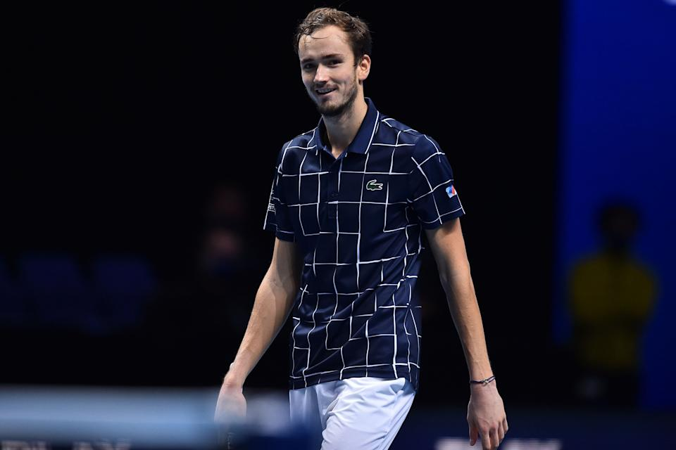 Daniil Medvedev defeated Rafael Nadal in the semi-finalsAFP via Getty Images