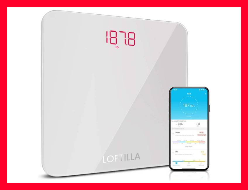 Only $16 for a smart scale! (Photo: Amazon)