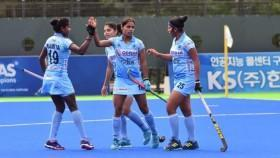 Asian Champions Trophy: Lalremsiami's equaliser help India hold Korea to a 1-1 draw in the last round robin match.