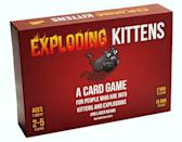 <p><span>Exploding Kittens Original Edition </span>($20) has nearly perfect five-star reviews across the board and rave reviews about how fun it is for players of all ages.</p>