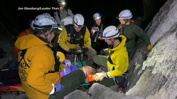 VIDEO: Elite female mountain climber speaks out after fall at Yosemite (ABCNews.com)