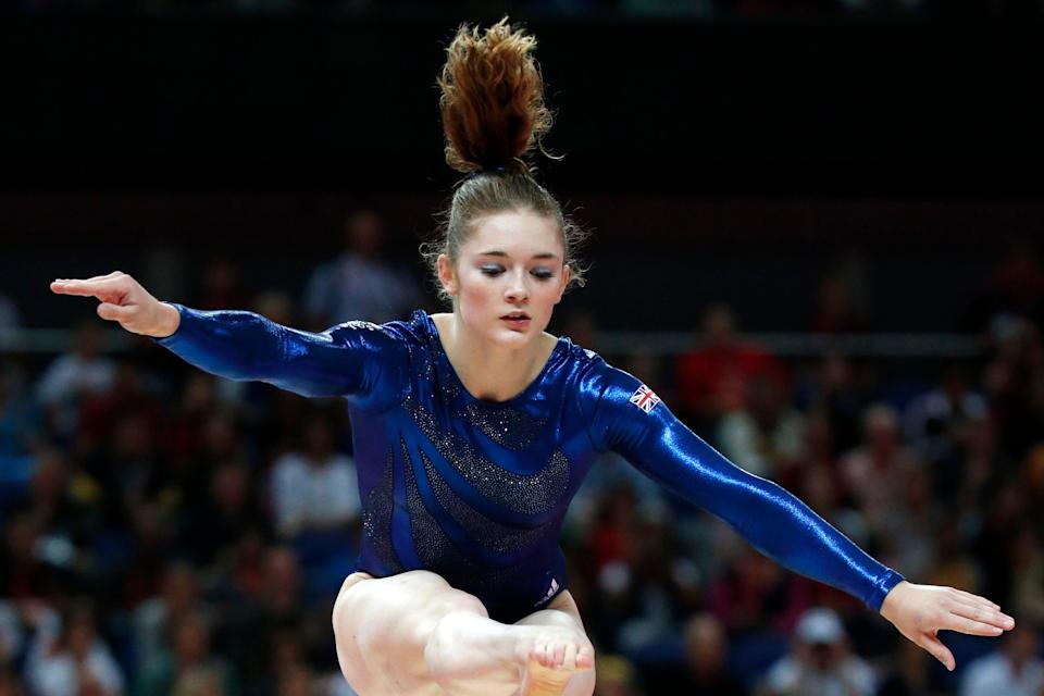 <p>Former Team GB Olympian Jennifer Pinches is community director of the Gymnasts for Change group</p> (AFP via Getty Images)