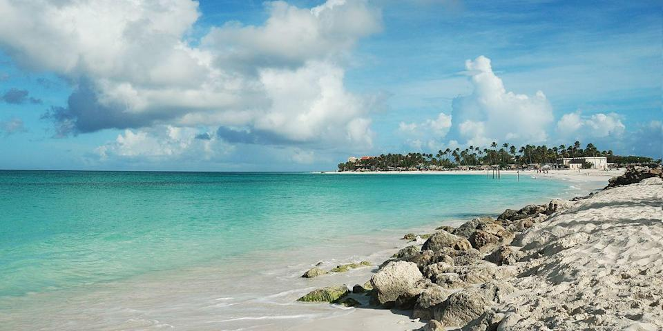 """<p>One of <a href=""""https://www.bestproducts.com/fun-things-to-do/g3121/best-aruba-hotels/"""" rel=""""nofollow noopener"""" target=""""_blank"""" data-ylk=""""slk:Aruba's"""" class=""""link rapid-noclick-resp"""">Aruba's</a> best beaches, <a href=""""https://www.tripadvisor.com/Attraction_Review-g147249-d150447-Reviews-Eagle_Beach-Palm_Eagle_Beach_Aruba.html"""" rel=""""nofollow noopener"""" target=""""_blank"""" data-ylk=""""slk:Eagle Beach"""" class=""""link rapid-noclick-resp"""">Eagle Beach</a> is known for its sugar-soft white sand. When you feel like being active, you can go kayaking or try stand-up paddle boarding. It's less built-up than neighboring Palm Beach, which is only a quick taxi ride away if you are craving a little more action.<br></p><p><a class=""""link rapid-noclick-resp"""" href=""""https://go.redirectingat.com?id=74968X1596630&url=https%3A%2F%2Fwww.tripadvisor.com%2FHotel_Review-g147249-d483311-Reviews-MVC_Eagle_Beach-Palm_Eagle_Beach_Aruba.html&sref=https%3A%2F%2Fwww.redbookmag.com%2Flife%2Fg34756735%2Fbest-beaches-for-vacations%2F"""" rel=""""nofollow noopener"""" target=""""_blank"""" data-ylk=""""slk:BOOK NOW"""">BOOK NOW</a> MVC Eagle Beach</p><p><a class=""""link rapid-noclick-resp"""" href=""""https://go.redirectingat.com?id=74968X1596630&url=https%3A%2F%2Fwww.tripadvisor.com%2FHotel_Review-g147249-d148673-Reviews-Tropicana_Aruba_Resort_Casino-Palm_Eagle_Beach_Aruba.html&sref=https%3A%2F%2Fwww.redbookmag.com%2Flife%2Fg34756735%2Fbest-beaches-for-vacations%2F"""" rel=""""nofollow noopener"""" target=""""_blank"""" data-ylk=""""slk:BOOK NOW"""">BOOK NOW</a> Eagle Aruba Resort & Casino </p>"""