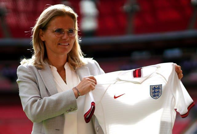 Sarina Wiegman was appointed as England boss last year but has only just taken over the reins.