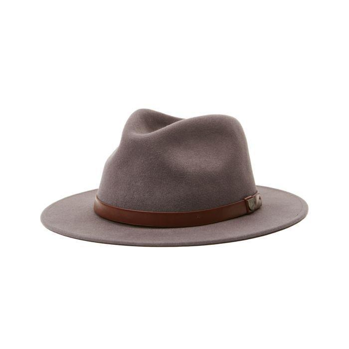 "<p><strong>Brixton</strong></p><p>brixton.com</p><p><strong>$69.00</strong></p><p><a href=""https://www.brixton.com/en_us/women/headwear/full-brim-fedoras/messer-packable-fedora-grey-womens.html"" rel=""nofollow noopener"" target=""_blank"" data-ylk=""slk:Shop Now"" class=""link rapid-noclick-resp"">Shop Now</a></p><p>The fact that this hat is packable makes us love it even more.</p>"