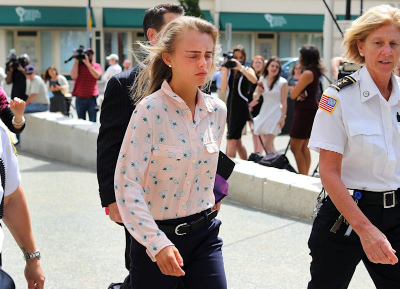 Michelle Carter filed an appeal with the Supreme Court days before an HBO documentary about her case, I Love You, Now Die, was released.