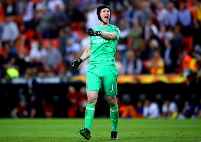 Arsenal goalkeeper Petr Cech is likely to start in Baku (Nick Potts/PA).