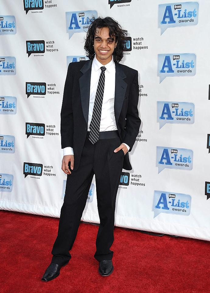 "Apparently, ""American Idol"" reject Sanjaya Malakar hasn't used up his 15 minutes of fame. Jordan Strauss/<a href=""http://www.wireimage.com"" target=""new"">WireImage.com</a> - April 5, 2009"