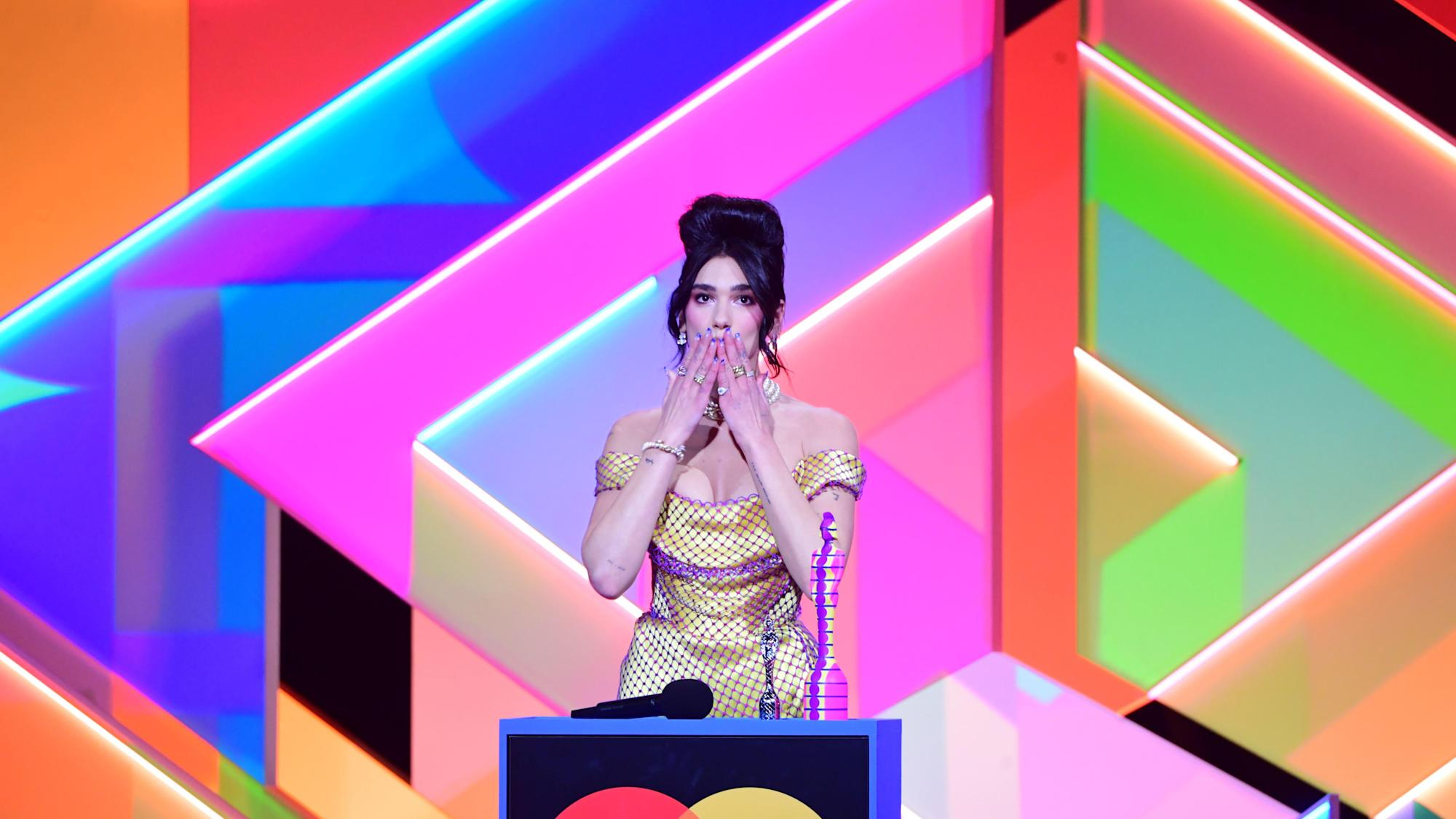 Dua Lipa's Brits call for NHS pay rise sparks Government response
