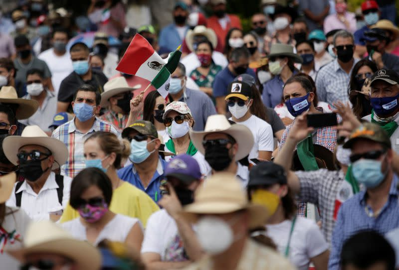 Drought-hit Mexicans assert demands that water sharing with U.S. ends