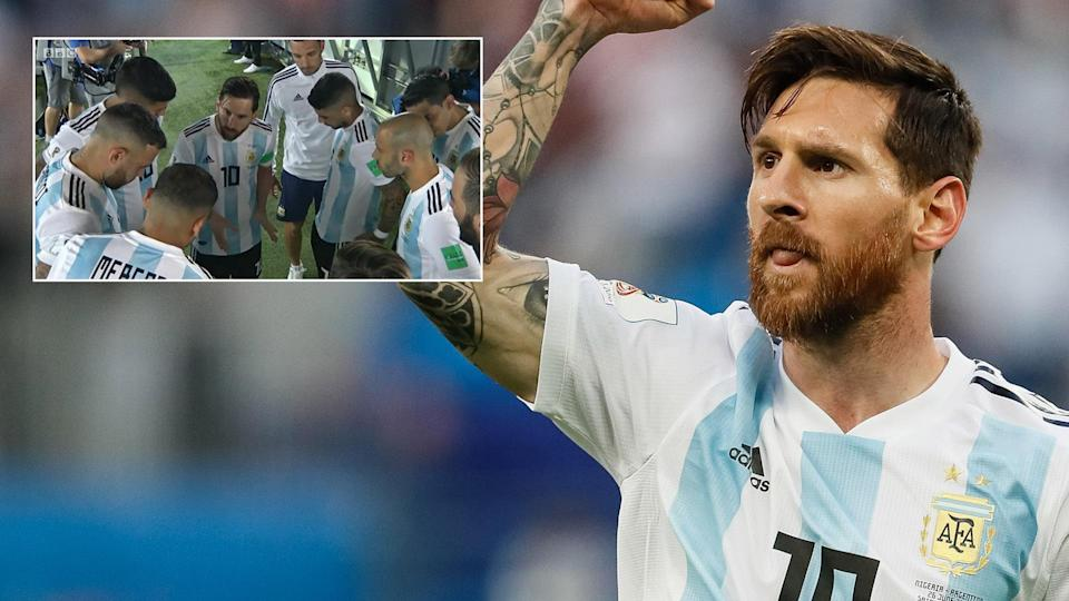 Lionel Messi is leading Argentina at the World Cup.