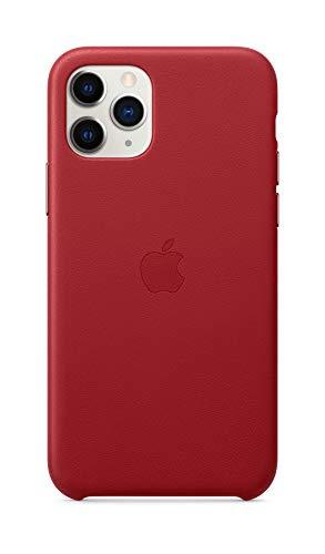 Apple Leather Case (for iPhone 11 Pro) - (Product) RED (Amazon / Amazon)