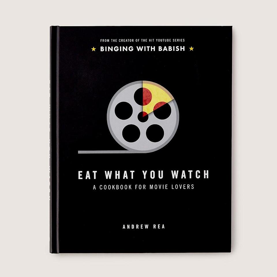 <p>Cinephiles will love the <span>Eat What You Watch Cookbook</span> ($25).</p>