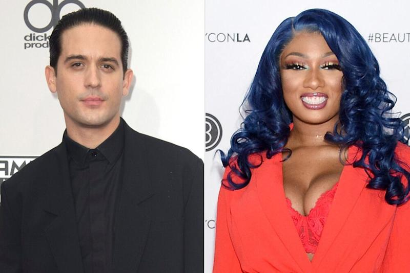 G-Eazy, Megan Thee Stallion | Image Group LA/Getty Images; Gregg DeGuire/FilmMagic