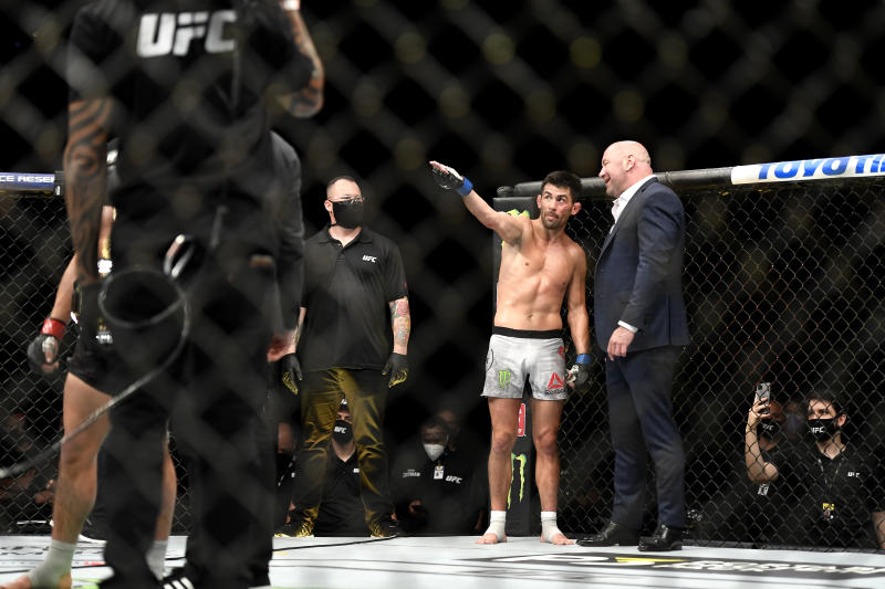 UFC 249 went off in a very different format. (Douglas P. DeFelice/Getty Images)