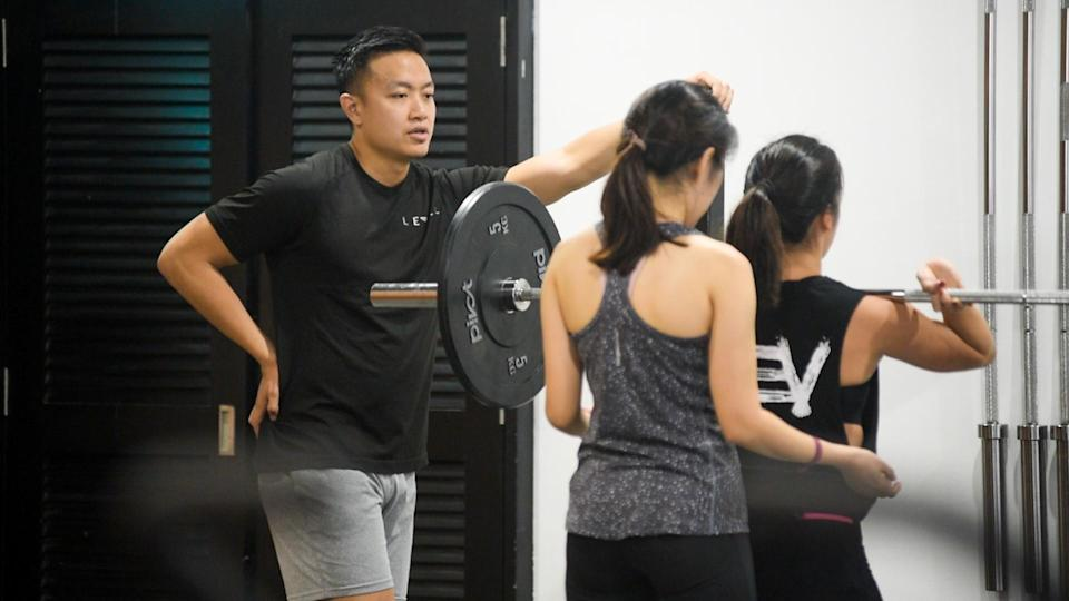 John Cheah believes that weightlifting has taught him to be constantly dissatisfied, so as to continually improve himself in life. (PHOTO: Stefanus Ian)