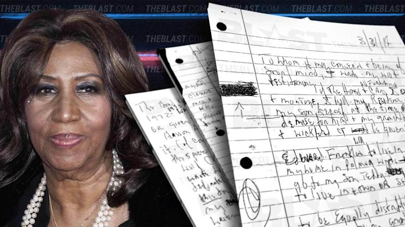 Read Aretha Franklin's Secret Handwritten Wills After Lock Box Discovery