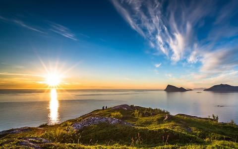 """""""Norway's North Cape in high summer is one big ciao-fest"""" - Credit: Getty"""
