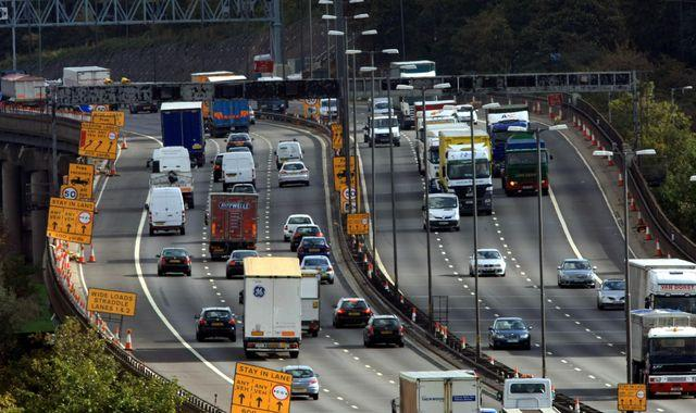Motorway speed limit to be slashed to 60mph in these four areas