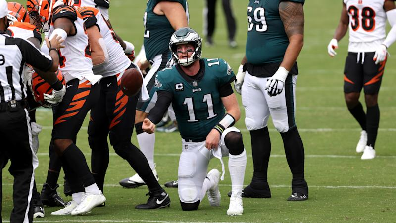 The Eagles and Bengals inexplicably quit trying to win in overtime, settle for tie instead