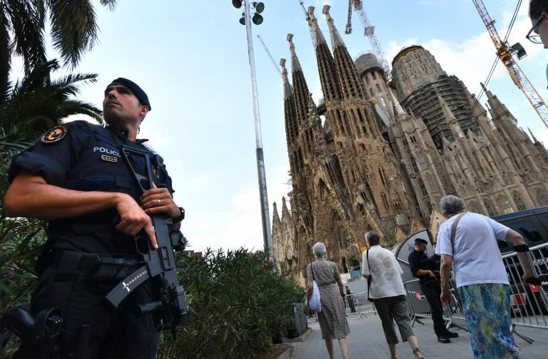 """One of the men on trial told investigators the group had been planning attacks """"on an even greater scale"""", with Barcelona's Sagrada Familia basilica among the suspected targets"""