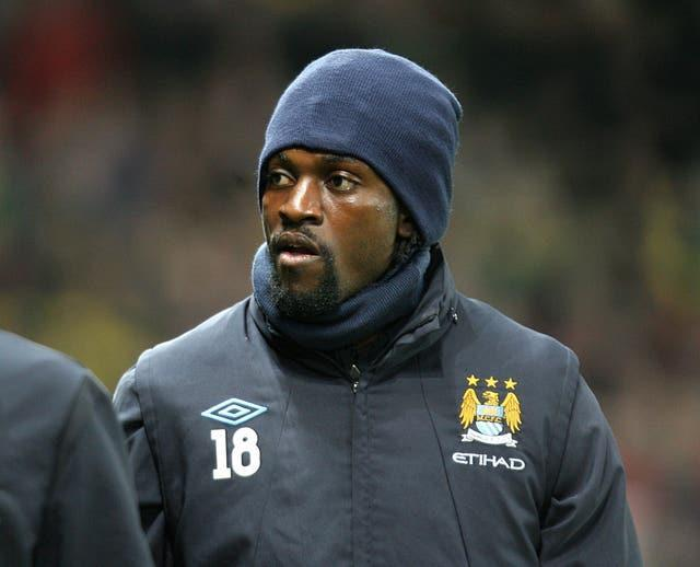 Three people were killed in the attack Adebayor was caught up in (Martin Rickett/PA).