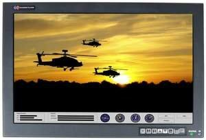 """Chassis Plans' 24"""" Rugged Rackmount LCD Monitors Now Support Multi-Touch Technology With Gesture Recognition"""