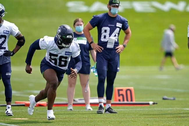 Brooks, Amadi about to get their chance on Seahawks defence