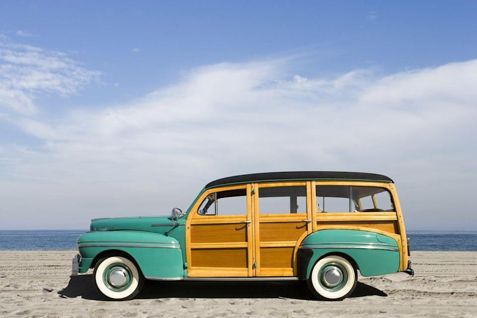 <p>Though wood-paneled cars were invented back in the 1930s, they became especially popular in the 1960s and 1970s as reliable but stylish family cars. </p>