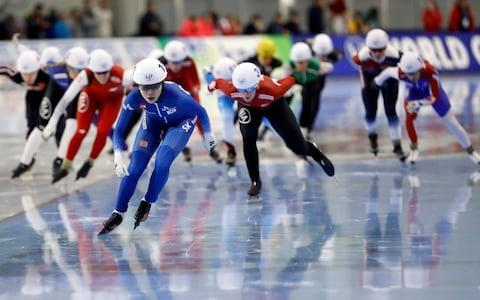 <span>Mass start speed skating has been introduced to the 2018 programme</span> <span>Credit: USA TODAY Sports </span>